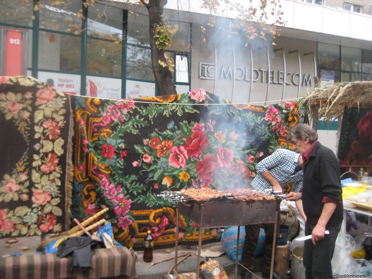 шашлыки на день города кишинева