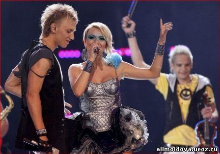 Оля Тира на Евровидении 2010
